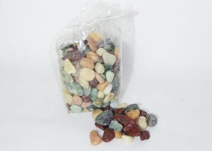 Sassi Naturali Colorati Assortiti Da 1.5 A 2 Cm Confezione Da 1 Kg