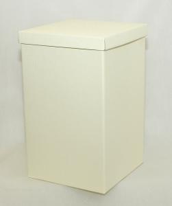 Due Scatole Fondo/coperchio 25x25x40 Cm