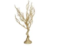 Albero Rami Oro 40 X 15 H. 76 Natale Decorativo Composizione