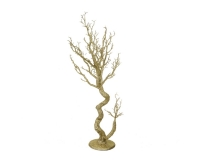 Albero Rami Oro 44 X 21 H. 105 Natale Decorativo Composizione
