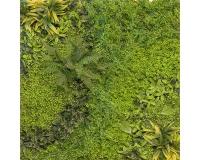 Parete Vegetale Artificiale Verde Mt 1x1 Lattice Real Touch
