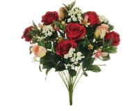 Busch X21 Rosa Orchidea Boccioli Tondo Decorazione Matrimonio Nozze