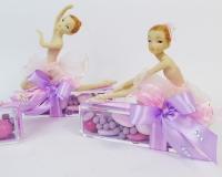 Bomboniera Scatola Plexiglass Ballerina Seduta