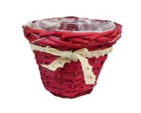 Coprivaso Rosso Fiocco D. 15 Composizione Floreale Fioristi