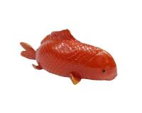 Pesce Rosso Piccolo 19x6x6 Linea Estate Mare Decorazione Wedding