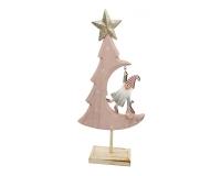 Albero Babbo Appeso H. 27 Piccolo Natale Decorazione