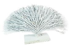Albero Della Vita Rami Legno Bianco Naturale 64xH.42 Cm Decorazione