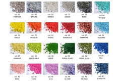 1 Kg Sabbia Granulare mm3-6 Decorativa Colorata Composizione wedding