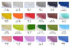 1 Kg Di Sabbia Sottile Decorativa 0.4-0.7 Mm
