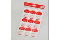 180 Sticker Adesivi Natalizi
