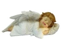 Angelo Che Dorme Cm 22,8 Decorazione Addobbo Natalizio