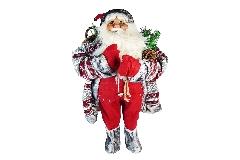 Babbo Natale Rosso Cm 90