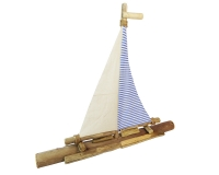 Barca A Vela Tronco 72x10 H. 64