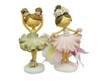 Bomboniera Sacchetto Comunione Cresima Ballerina Grande Rosa