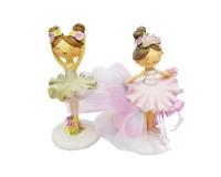 Bomboniera Sacchetto Comunione Cresima Ballerina Piccola Multicolore