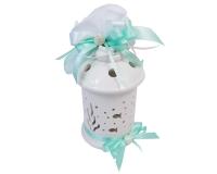 Bomboniera Matrimonio Nozze Linea Mare Lanterna Ceramica Pesci