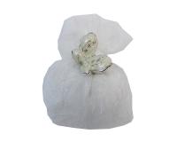Bomboniera Matrimonio Nozze Saccotto Peloso Farfalla Decorativa