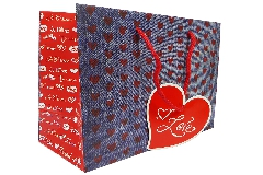 Shopper Ti Love 26x12x32 Pz 10