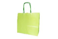 25 Buste Di Carda Verde Perlato 18x8x20 Cm