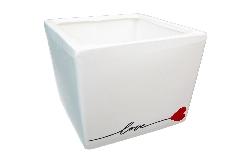 Cubo Love 10x10x10 Cm Contenitore In Ceramica San Valentino