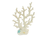 Corallo Bianco Alto Resina Stella Conchiglie Linea Mare Estate