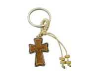 Portachiave Croce Legno/metallo Pz 1