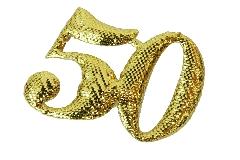 Pz 26 Applicazione Tessuto 50 Nozze D'oro 3 Cm Bomboniere Fai Da Te