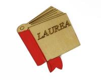 Pz 48 Applicazione Libro Laurea Legno 4 Cm Bomboniere Fai Da Te