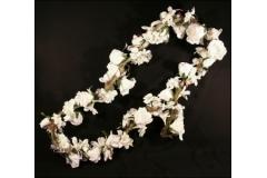 Ghirlanda Festone Rose E Orchidee 185 Cm