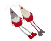 Babbo Elfo Da Appendere Pz 1  Decorazione Arredo Linea Natale