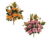 Busch Frontale Rose Anemone X16 Fiori Ornamentali