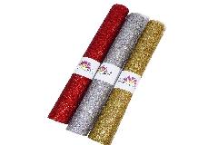 Rete Decor Mesh Cm 50x5 Yds Metal Glitter Decorazione Arredo Natale