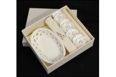 Box Piattino Ceramica Rose Profumate
