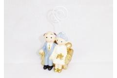 Sposi Su Divano Nozze D\' Oro Memo Pz 1