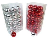 Box Sfere Plastica Mm 60 Pz 36 Natale