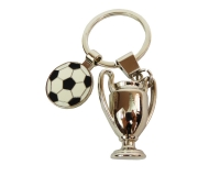 Portachiave Applicazione Calcio Pallone Coppa Champion Pz 1