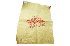 Sacco Juta Merry Christmas Cm 91x60