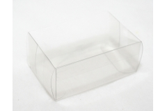 10 Astucci Trasparenti 9x6x4 Cm