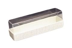 Pz 10 Astucci Trasparenti Portaconfetti 9x2,3x3 Cm