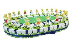 Torta Bomboniera Campo Di Calcio Calciatori 24 Fette
