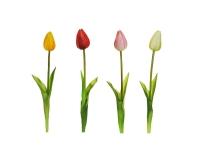 Tulipano Singolo Cm 50 Effetto Real Touch Composizione Floreale