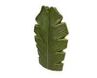 Vaso Foglia Tropical 20x7 H32 Ceramica Colorata