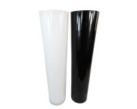 Vaso Vetro Conico H. 70 Basic Colorato Decorazione Addobbi