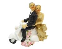 Sposi In Vespa Nozze D' Oro Pz 1