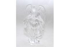 Angelo Classico In Plexiglass Trasparente 20 Cm