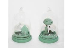 Mini Tortiera Tiffany Casa/fungo Diametro 5.5 Cm Alta 9 Cm