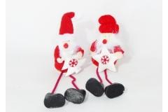 Babbo Natale Lana Stella/albero Pz 1