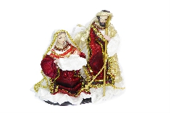 Nativita Presepe Vesti Tessuto Cm 25.5 Decoro Arredo Natale