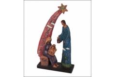 Sacra Famiglia Grande Pastello de Chirico Natale