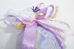 Bomboniera Sacchetto Piccolo Pick Fiore E Lavanda Wedding